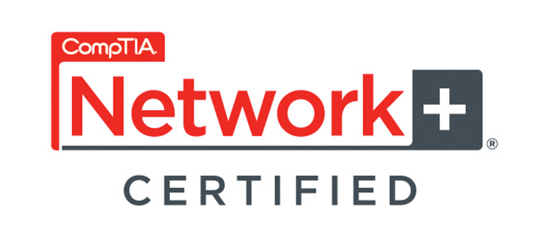 CompTIA Network+ Certified logo